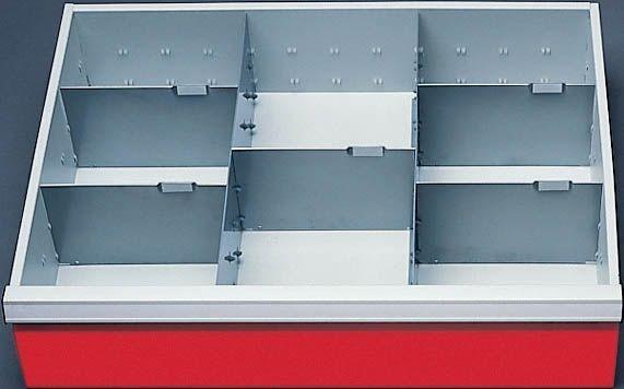 schubladeneinsatz geeignet f r t500 6 schubladen mit blh. Black Bedroom Furniture Sets. Home Design Ideas