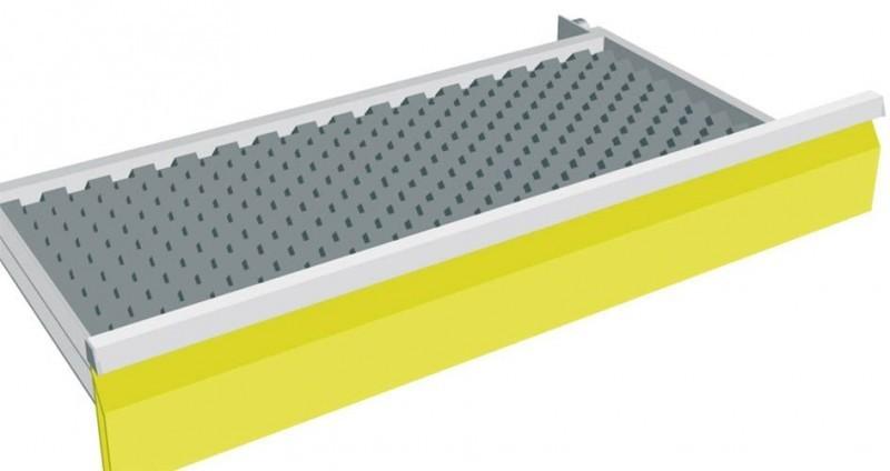 maxmobile 1 schubladen universal schaumstoffeinsatz f r blh 100 mm. Black Bedroom Furniture Sets. Home Design Ideas